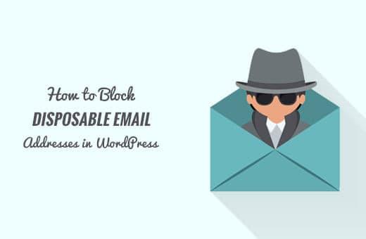 chặn địa chỉ email rác