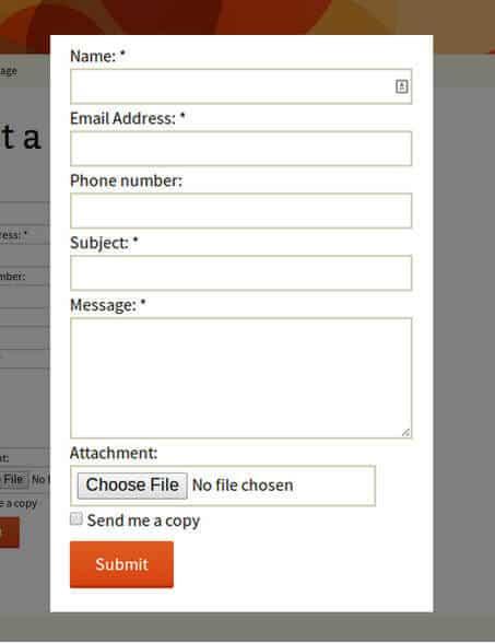Contact Form bởi BestWebSoft