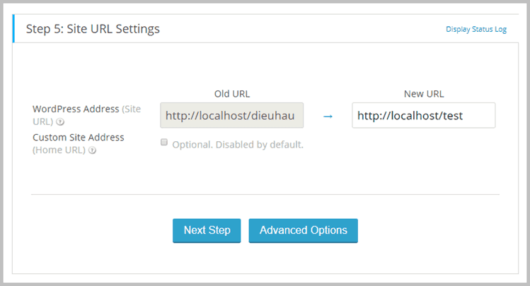 Site-URL-Settings