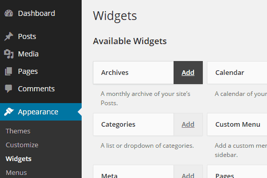 accessible-widgets