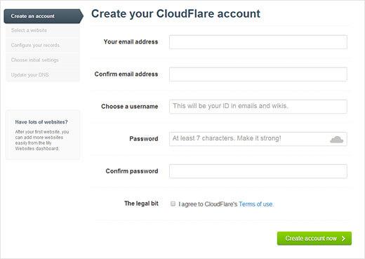 Cách thiết lập CloudFlare CDN cho WordPress