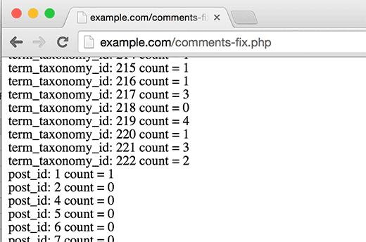 bạn cần phải xóa file comments-fix.php từ máy chủ.