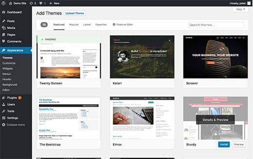 Ưu điểm của những giao diện WordPress miễn phí