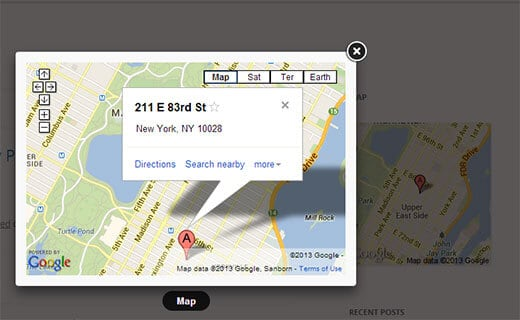 google-maps-widget