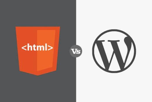 WordPress vs Static HTML – Cái nào tốt nhất cho Website kinh doanh của bạn?