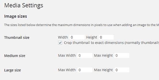 Vô hiệu hóa mặc định của WordPress