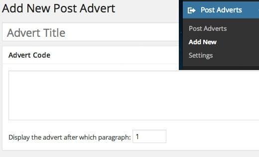 chèn quảng cáo vào bài viết