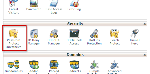 password-protect-cpanel