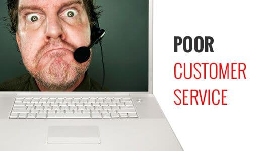 thay đổi hosting khi bạn cảm thấy dịch vụ hỗ trợ khách hàng kém