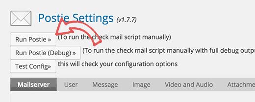 Kiểm tra bài viết thông qua tính năng Email
