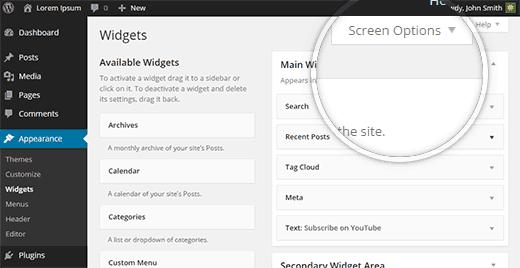 Làm Thế Nào Thêm WordPress Widget Vào Chế Độ Accessibility