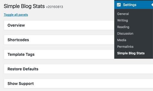 Thêm sô liệu thống kê Blog đơn giản trong WordPress