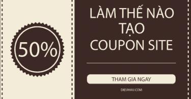 làm thế nào tạo coupon site trong Wordpress