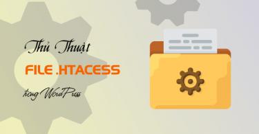 thủ thuật sử dụng file htaccess