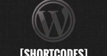 bỏ những Shortcode không dùng