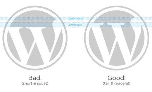 logo và thương hiệu wordpress