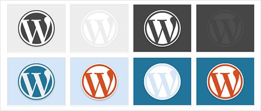 Màu sắc của WordPress