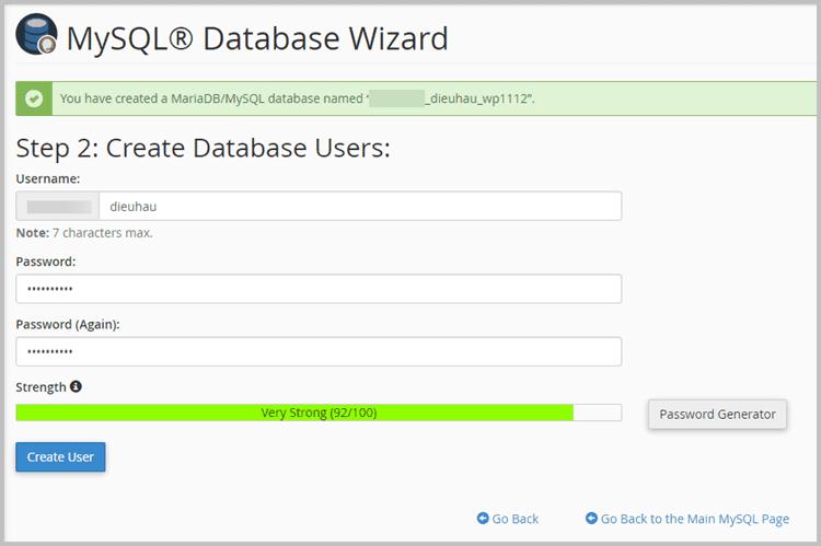 Create-database-user