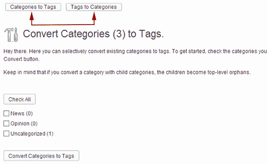 categories-tags-convertor