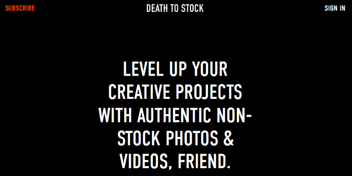 death-to-stock-photo