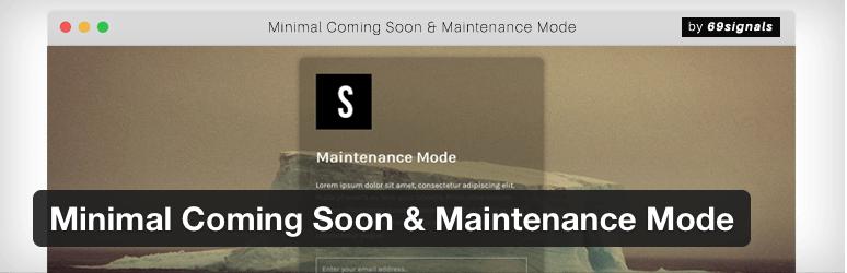 minimal-coming-soon-maintenance-mode