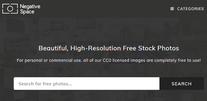 negative-space-website