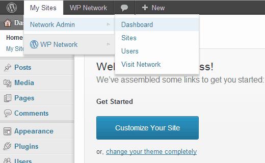 network-admin-menu