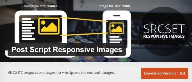 Post Script Responsive Images