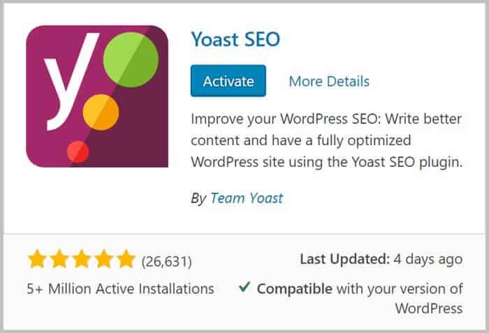 install yoast seo