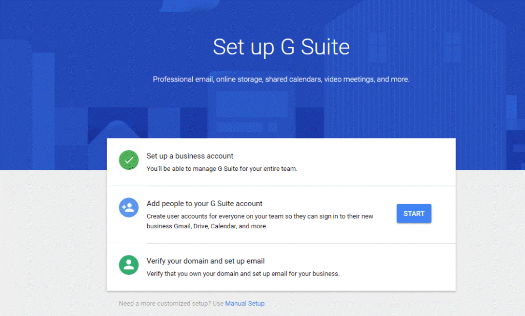 Setup-G-Suite-Account