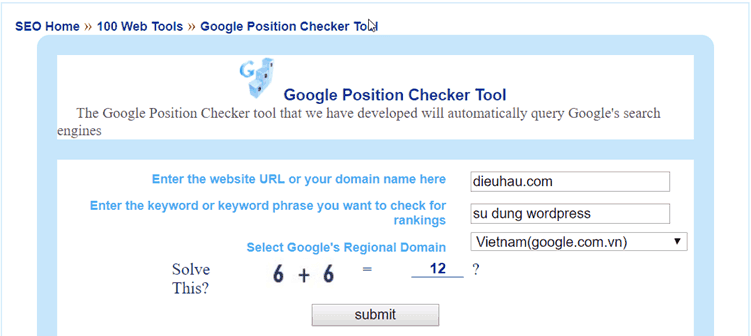Google-Rank-Checker