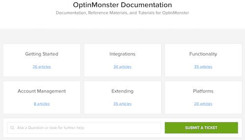 optinmonster documentation