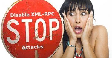 vô hiệu hóa XML-RPC