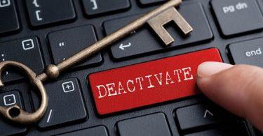 deactive plugin khi không vào được khi vực admin