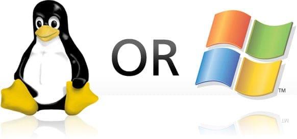 hệ điều hành linux và windows