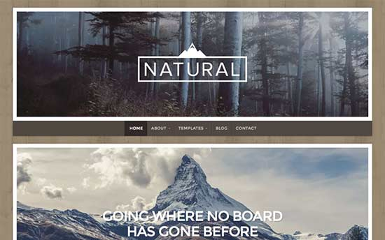 Natural-Lite-theme
