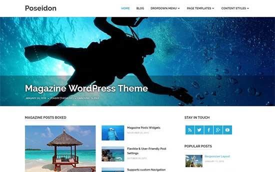 Poseidon-theme