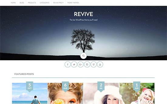 Revive-theme