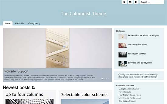The-columnist-theme