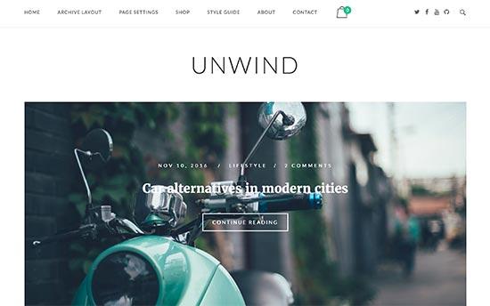 Unwind-theme