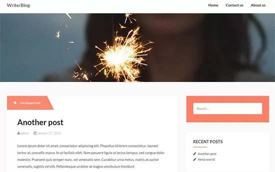WriterBlog-theme