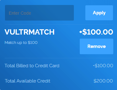 Vultr coupon