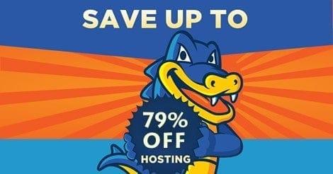 Hostgator coupon giảm giá lên đến 79%