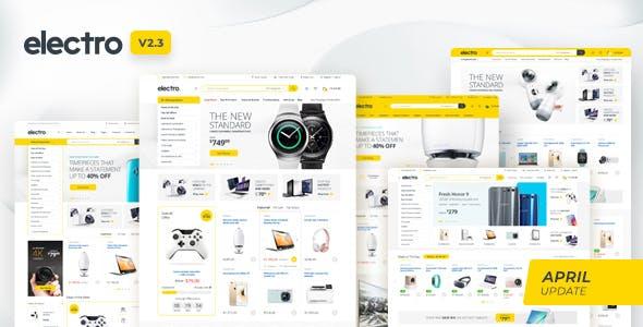 Electro theme bán hàng cho cửa hàng điện tử
