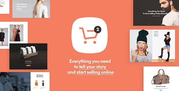Shopkeeper theme bán hàng hiện đại trẻ trung