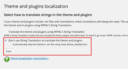 Dịch Theme và Plugin