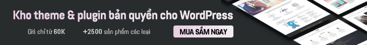 kho wordpress theme & plugin bản quyền