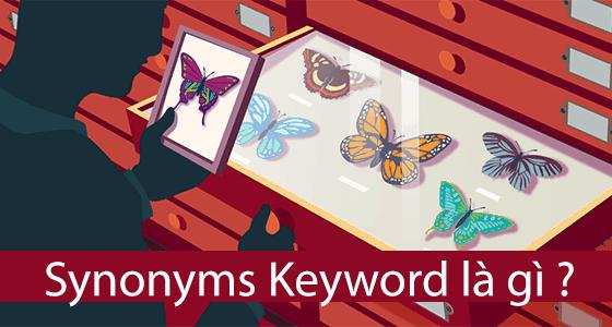 Synonyms keyword là gì – Từ khóa đồng nghĩa và từ khóa liên quan