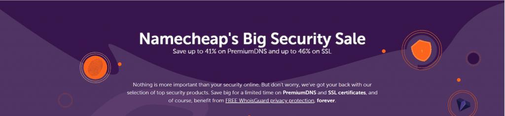 Namecheap giảm giá SSL & PremiumDNS