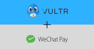 vultr hỗ trợ thanh toán qua wechat pay